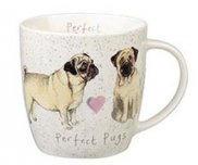 Кружка 0,39 л Perfect Pugs QUEENS Churchill